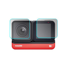 Защитное покрытие из закаленного стекла чехол для GoPro Go pro Hero5 Hero6 Hero7 Hero 5/6/7 черный объектив камеры ЖК экран Защитная пленка