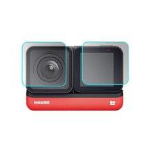 Kính Cường Lực Bảo Vệ Cover Go Pro Hero5 Hero6 Hero7 Hero 5/6/7 Màu Đen Camera ống Kính Màn Hình LCD Màn Hình Bảo Vệ Bộ Phim