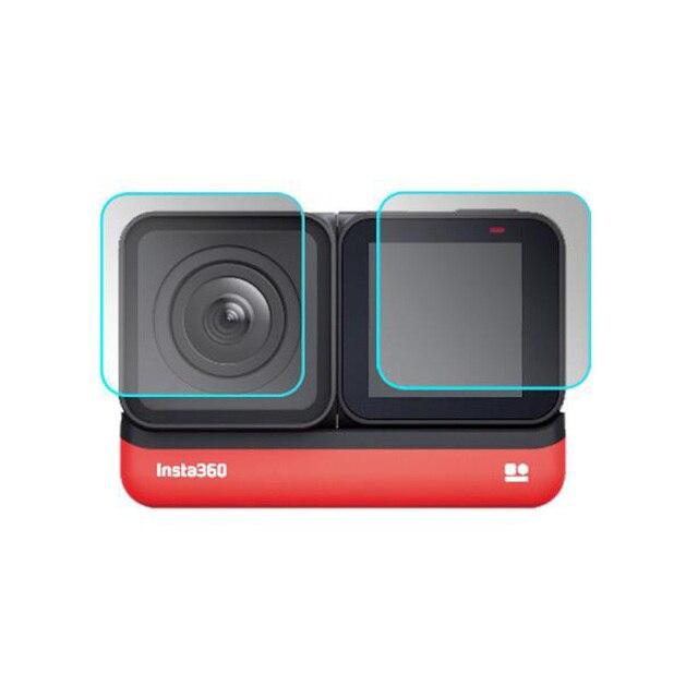 Temperli cam koruyucu kapak kılıf için GoPro git pro Hero5 Hero6 Hero7 Hero 5/6/7 siyah kamera lens LCD ekran koruyucu Film