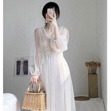 New Autumn Dresses/Super Fairy Sweet Temperament Dresses for 2019