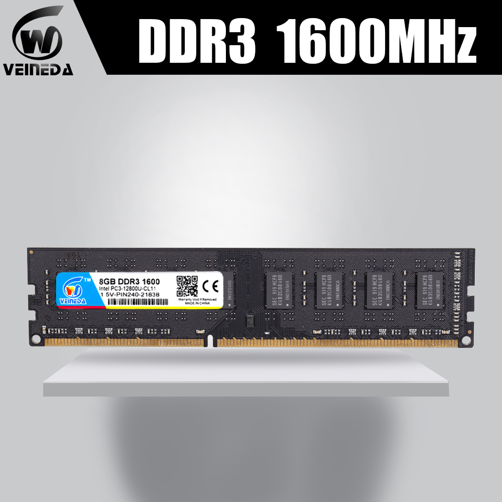ddr3 ram memoria ddr3 16gb 2X8gb dimm 1600MHZ ddr3 For all Intel AMD Desktop 240pin PC3-12800 ddr3 image