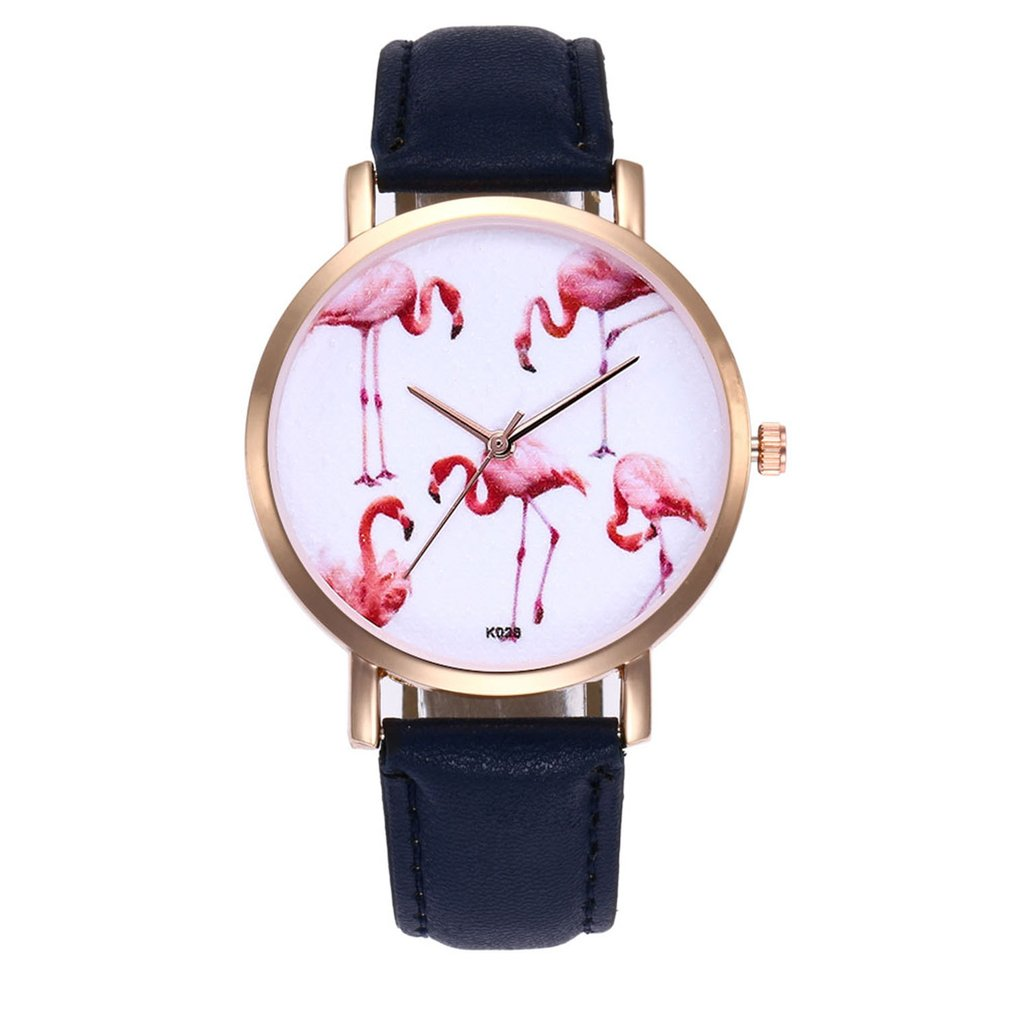 K028 Rose Gold Woman Watch Wristwatch Steel Wristband Quartz Movement Fashionable Popular Nice Sweety Gift
