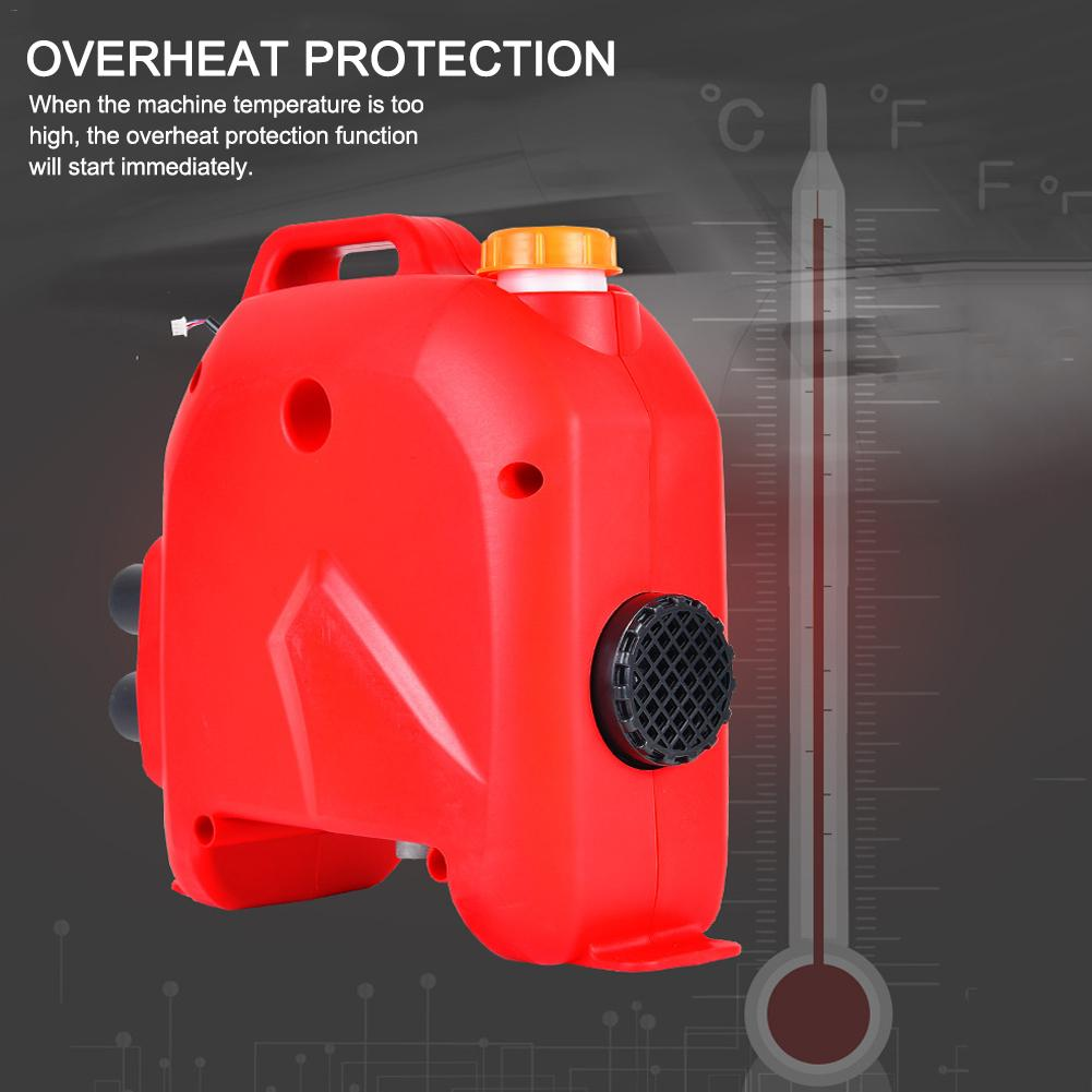 Calefator de carro 12 v/24 v 5kw a favor do meio ambiente diesels de ar universal para carros de bateria de armazenamento de veículos de carga - 5