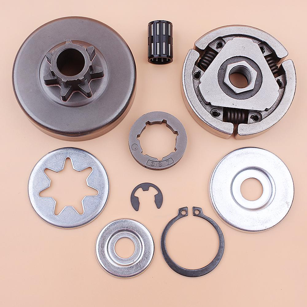 1003 Washer 1119 Kit Bearing 3 Stihl Drum 038 380 Rim 8inch MS380 Chainsaw Sprocket MS 0007 For Clutch Repair