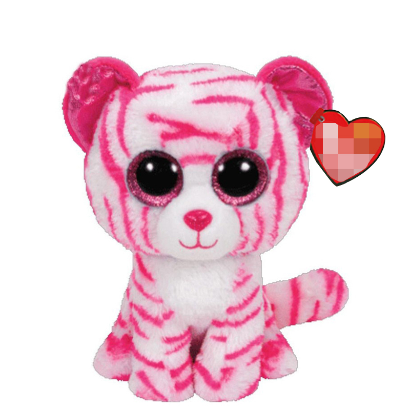 Ty Asia The Tiger Plush Animal Toys Stuffed Doll Gift 15cm