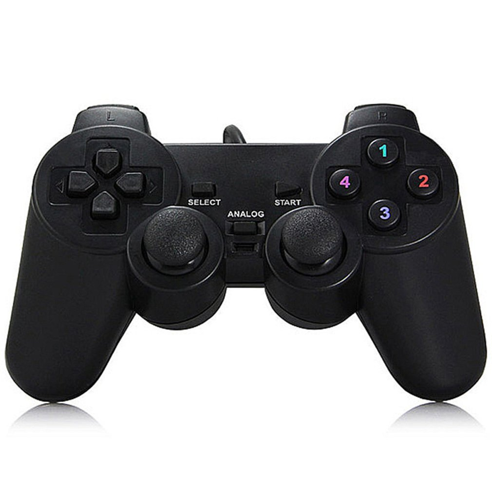 Gamepad Joystick USB2.0 Shock Joypad Gamepads Game Controller For PC Laptop Computer Win7/8/10/XP/Vista