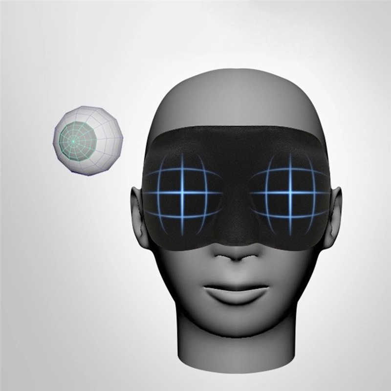 1PCS NEW Travel 3D Memory Sponge Eye Mask Night help Rest Relax Sleep Soft Padded Shade Cover Sleeping Blindfold Drop shipping