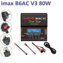 Умное цифровое балансирующее зарядное устройство Imax B6AC V3 для радиоуправляемого вертолета, зарядка для NiMH NiCD LiHV NiCd PB Li-Ion аккумуляторов