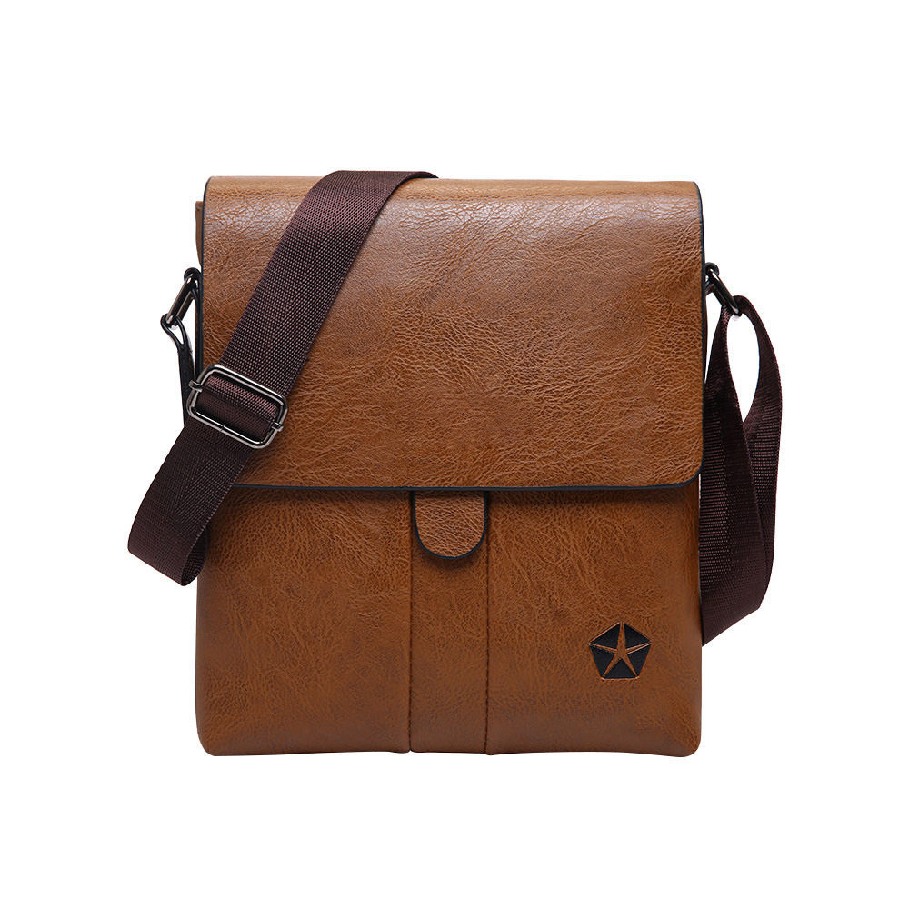 Hot Sell Men Leather Classic Brand Men Bag Vintage Style Casual Men Bag Casual Man Bag Shoulder Bags Briefcases Business Office