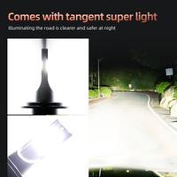 2pcs F2A-LED H4 40W 4000LM Car Haedlight H4 H7 H4 LED H8 H9 H11 3000K 6000K 6500K 8000K 25000K Auto Fog Light 6