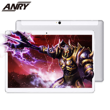 цены ANRY 10 Inch Tablet Pc Android 8.1 1920x1200 IPS Tablets PC 10 Core Deca RAM 4GB ROM 64GB 13MP 4G Dual sim Card Phone Call GPS