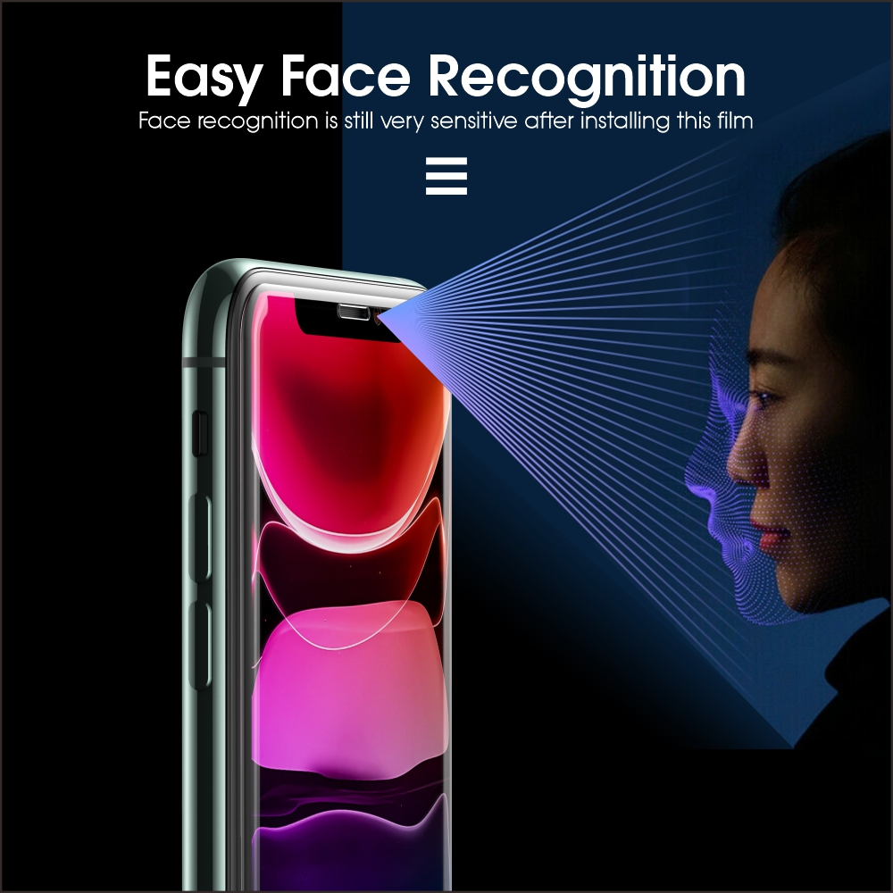 Vothoon 2.5D Tempered Glass Screen Protector For iphone 6s 7 8 Plus Big Arc AGC Glass For iphone 11 pro xs max Protective Film