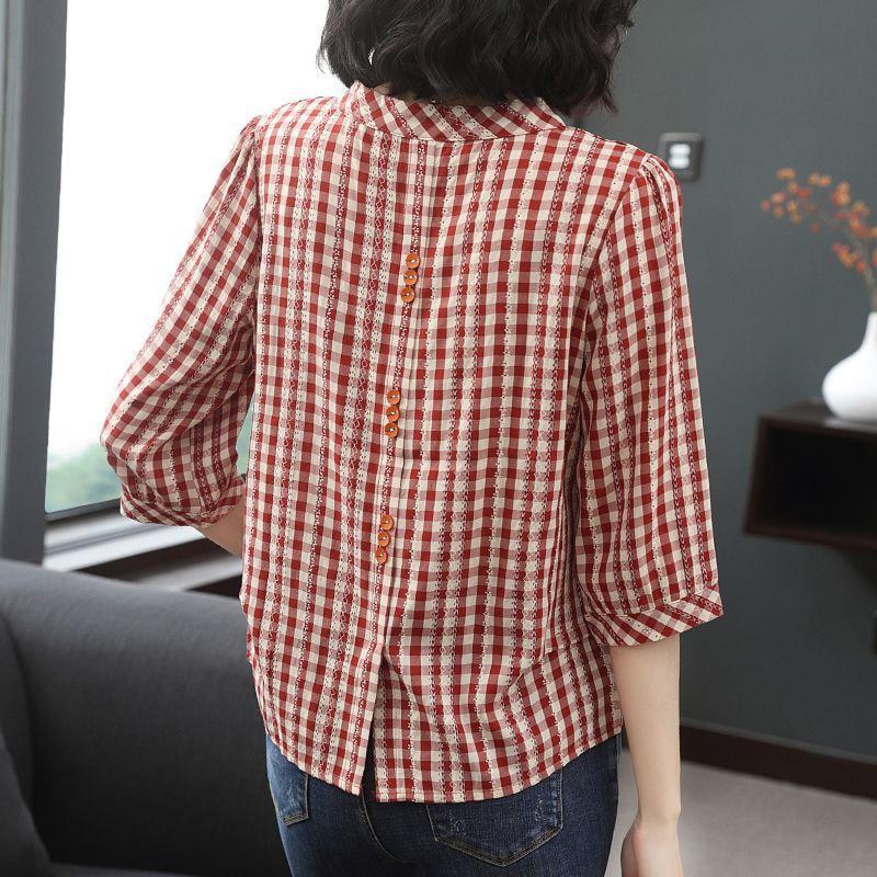 Women Spring Summer Style Blouses Shirts Halal City Mart