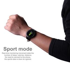 Image 3 - フィットネストラッカースマート腕時計心拍数モニタースポーツ腕時計男性用女性ブレスレット POSHI アンドロイド iOS レロジオ masculino