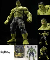 Movie Avengers Infinity War 3 Action Figures Robert Hulk Figures Action Thor Ragnarok Hulk Figure Model PVC Toy Doll 20cm
