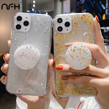 For iPhone 11 Pro Max Luxury Glitter Clean Silicone