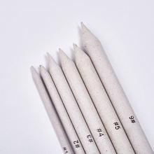 6 шт твердые ручки глиняные инструменты резьба ремесло кисти