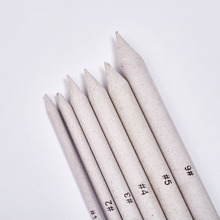 6Pcs Solid Pens Clay Tools Carving Craft Brush Pottery Tools Clay Sculpture Pottery Ceramics Tool stamping brayer art clay tools for craft 3 5x8x11cm non stick roller pin clay roller pottery rolling pin modelling tool