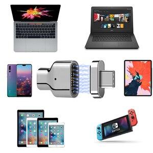 Image 5 - USB C محول مغناطيسي 24 دبوس إلى USB C 3.1 محول داعم محول 100 واط PD ، 40Gbp/s البيانات ، فيديو 5K لمزيد من جهاز Type C