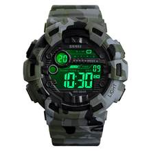 SKMEI 1472 Men Digital Watch Calendar Chronograph Outdoor Military Sports Watches Waterproof Male Wristwatch Relogio Masculino(China)