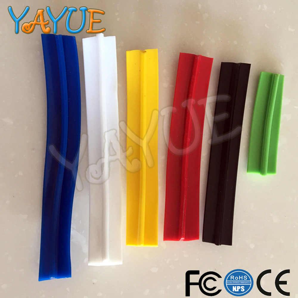 10m 길이 32.8ft 16mm/19mm 너비 아케이드 MAME 게임기 캐비닛 용 플라스틱 T-몰딩 T 몰딩 7 가지 색상 사용 가능