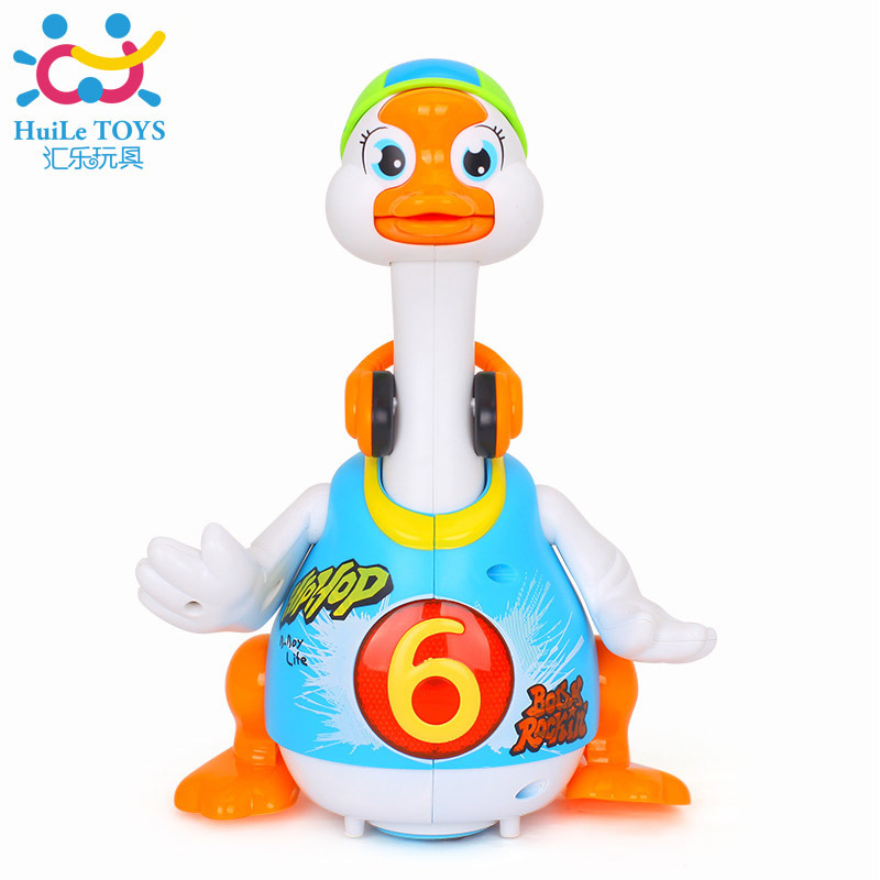 Department Of Music 828 Sway Goose Infants Children Learn To Climb Electric Talking Singing Dancing Duck 1-3 Years Old Educatio