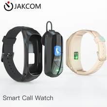 JAKCOM B6 Smart Call Watch Newer than loja oficial dt no 1 watch wristbands for women smart band 4 nfc strap bandas(China)