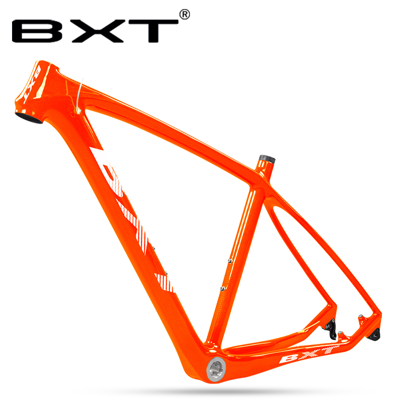 Free Shipping Carbon Fiber Frames 29er Full Carbon Mountian Bike Frame 29inch MTB Bicycle Frame 142x12mm/135*9mm Rear Hook
