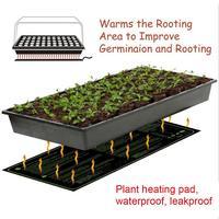Clone Starter de Propagação De Germinação Das Sementes Da Planta mudas de Calor Mat À Prova D' Água Almofada Quente Almofada De Aquecimento Hidropônico Fontes Do Jardim