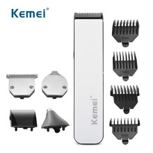 Kemei Hair ClippersตัดผมProfesional Multifunction Electric Hair Trimmerไร้สายแกะสลักผู้ชายGroomingเครื่องตัดผม(China)
