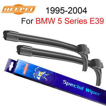 QEEPEI Wipers Blade For BMW 5 Series E39 1995-2004 26''+22'' Car Accessories Auto Rubber Windshield Windscreen Wiper CPZ103 - discount item  45% OFF Auto Replacement Parts