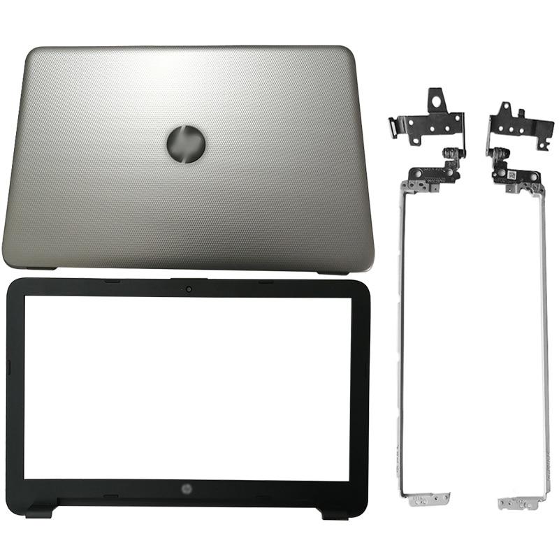 NEW Laptop LCD Back Cover/Front Bezel/LCD Hinges/Palmrest/Bottom Case For HP 250 255 256 G4 15-AC 15-AF 813935-001 813930-001