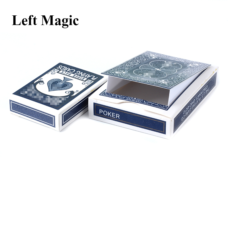 Inexhaustible Case Of Cards Magic Tricks Cards Change Magic Box Props Class Magic Stage Street Mentalism Illusions Toys Joke