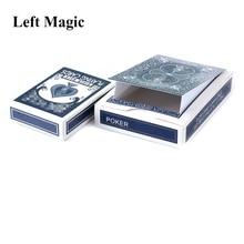 Неиссякаемый Чехол для карт волшебные карты для фокусов Магическая коробка реквизит класс магический сценический уличный ментализм иллюзии игрушки шутка