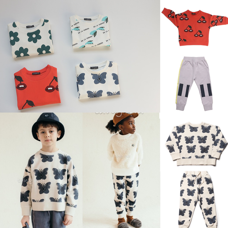 Kids Clothes Sets New Spring Toddler Boys Girls Sweatshirt Harem Pants Brand Fashion Clothing Baby Sweatshirts Children Tops Tee 1