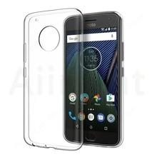 Soft Phone Case For Motorola Moto C E4 E5 E6 G3 G4 G5 G6 G7 Plus Z Z2 Z3 Play X4 Transparent TPU Luxury Ultra thin Cover Cases