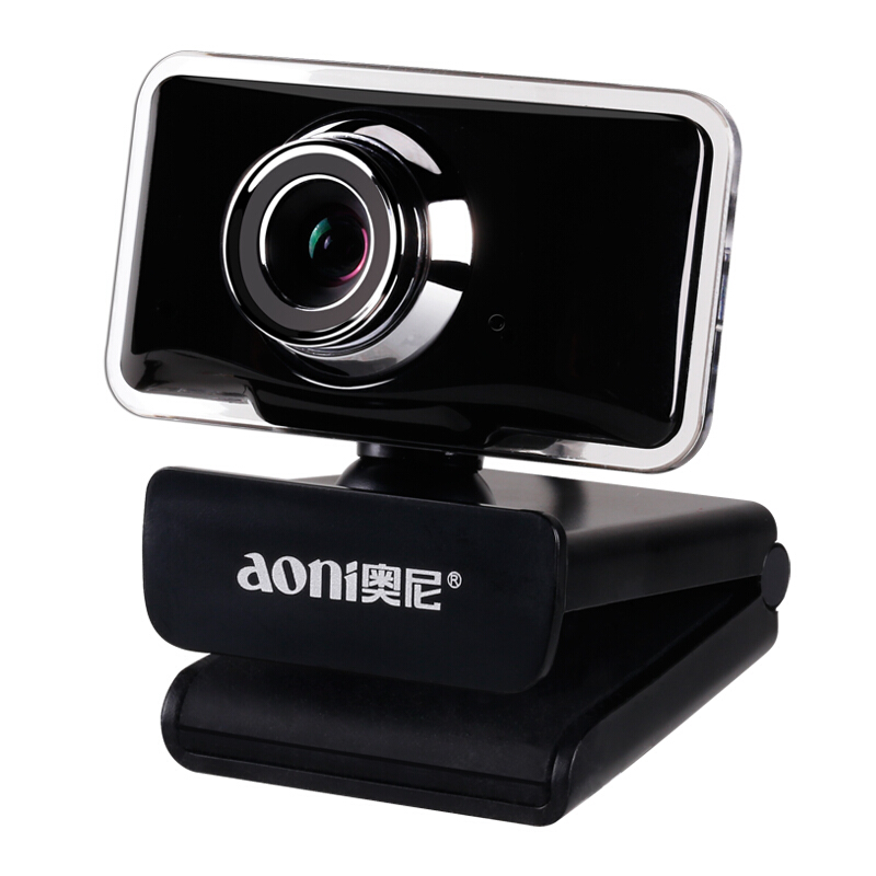 Aoni C11 HD camara de video Webcam 720P Built-in Micphone USB Mini Computer USB Camera for PC cam Computer Universal web camera 2