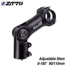 Mountain bike Aheadset Stem booster adjustable riser 28.6*31.8 negative angle