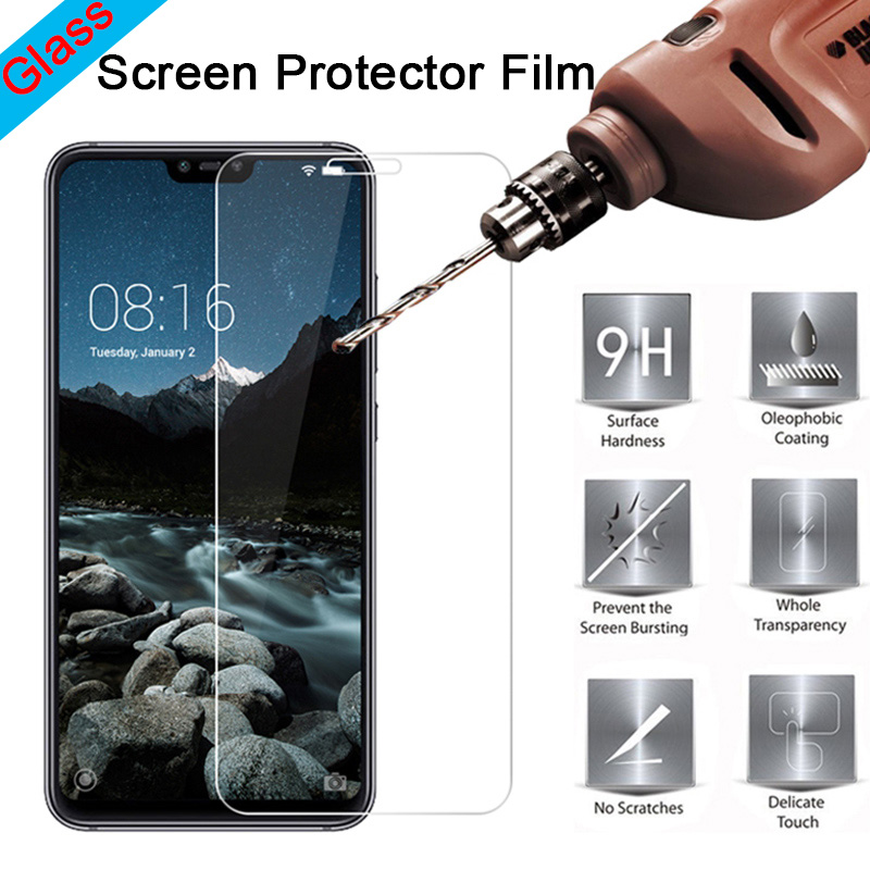 Screen-Protector Protective-Glass Pocophone F1 Xiaomi Mi A2 Lite 9H for A1 5/4s/4c/..