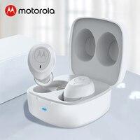 Motorola Vervebuds 100 TWS Bluetooth 5 Kopfhörer In Ohr HD Stereo Ohrhörer 14H One Touch Control Mit Passive Noise cancell Weiß