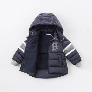 Image 5 - דייב bella חורף תינוק למטה מעיל ילדים 90% לבן ברווז למטה מרופד מעיל ברדס הלבשה עליונה