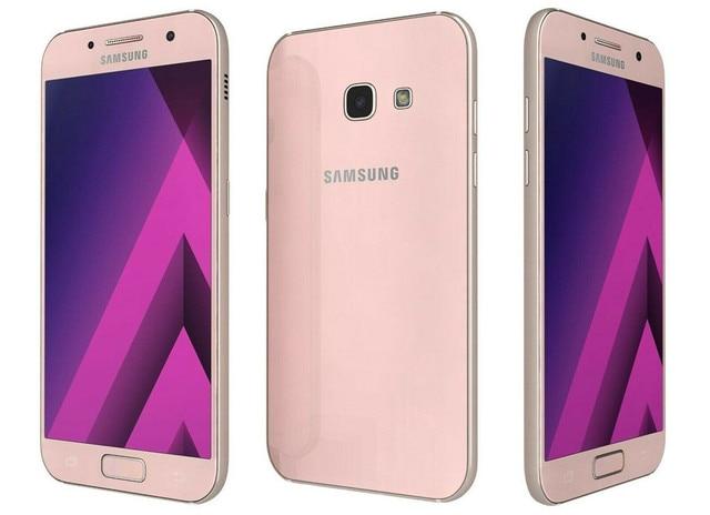 "Samsung Galaxy A3 2017 A320F A320FL RAM 2GB ROM 16GB Mobile Phone Octa Core 4.7"" 13MP&8MP Exynos NFC Fingerprint Cellphone 2"