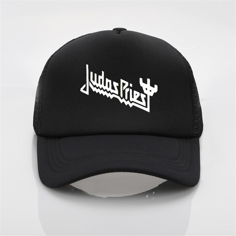 Fashion hat Judas Priest Heavy Metal Band Mesh cap Summer Men Women rock Baseball caps Rock Music Fans Trucker hat