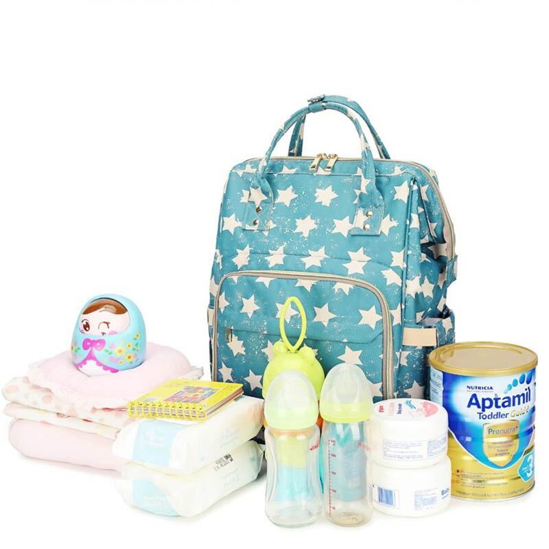 Baby Diaper Bags Large Capacity Mummy Bag Maternity Nappy Bag Travel Backpack Nursing Bag for Baby Care Women Fashion Nurse Bag