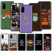 TV Show Friends Together Silicone Case For Samsung Galaxy S10 S10e S10 Lite S20 Ultra 5G S8 S9 S20 Plus S7 Edge Back Cover Couqe tv riverdale jughead jones silicone case for samsung galaxy s20 ultra 5g s10 s10e s9 s8 s7 s10 s9 s8 plus s7 edge phone cover