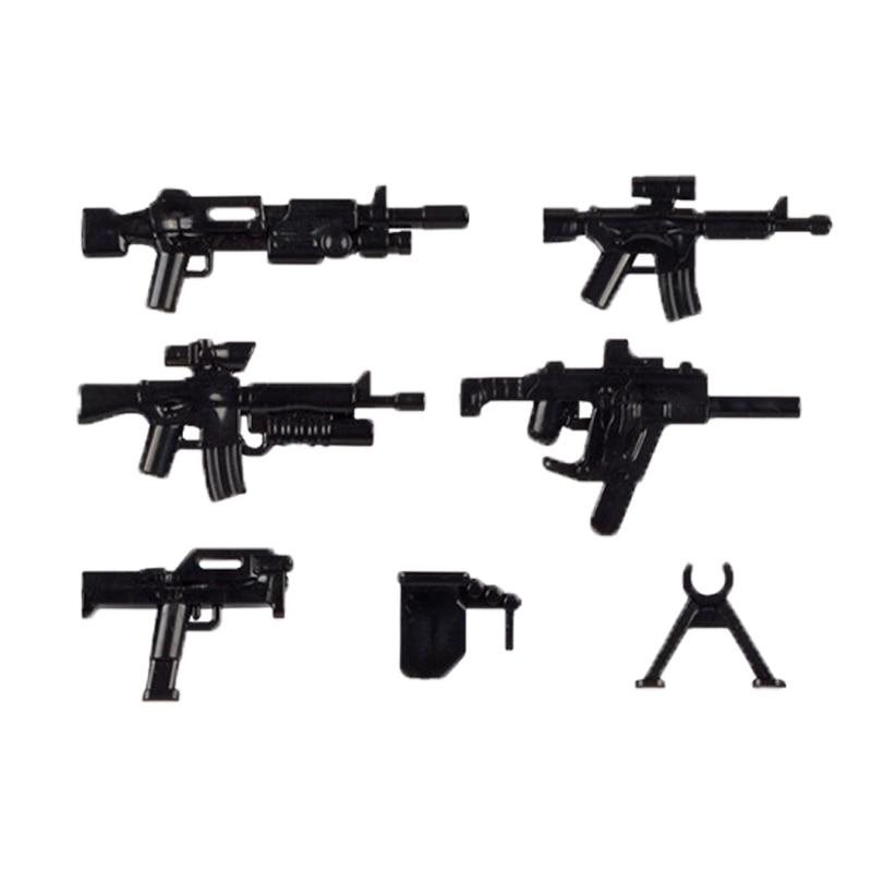 lego military weapons guns blocks 2