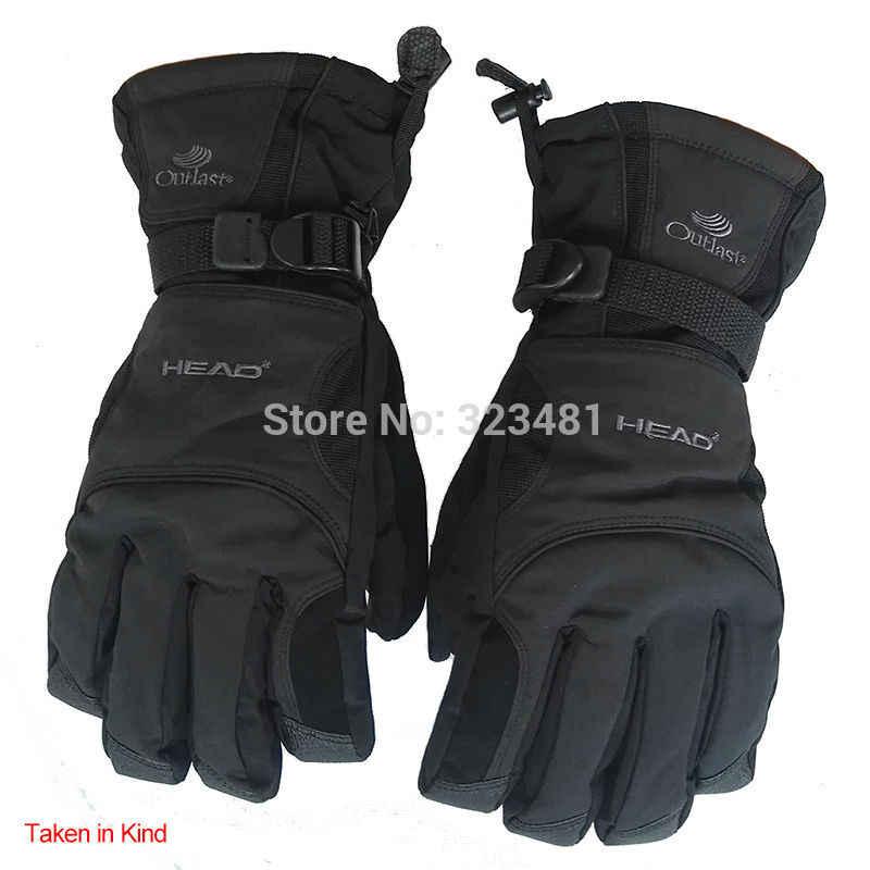 Лыжные перчатки Snow Head водонепроницаемые-30C градусов зимние теплые перчатки для сноуборда мужские и женские перчатки для мотокросса ветрозащитные перчатки для езды на мотоцикле