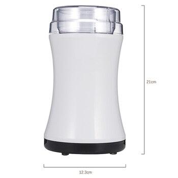 Бытовая электрическая полуавтоматическая кофемолка Bean шлифовальный станок мощный специй гайки мельница лезвие из нержавеющей стали EU