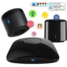 2021 Broadlink RM4Pro 4CMini akıllı ev otomasyon WiFi IR RF evrensel akıllı uzaktan kumanda Alexa ile çalışmak, GoogleHome