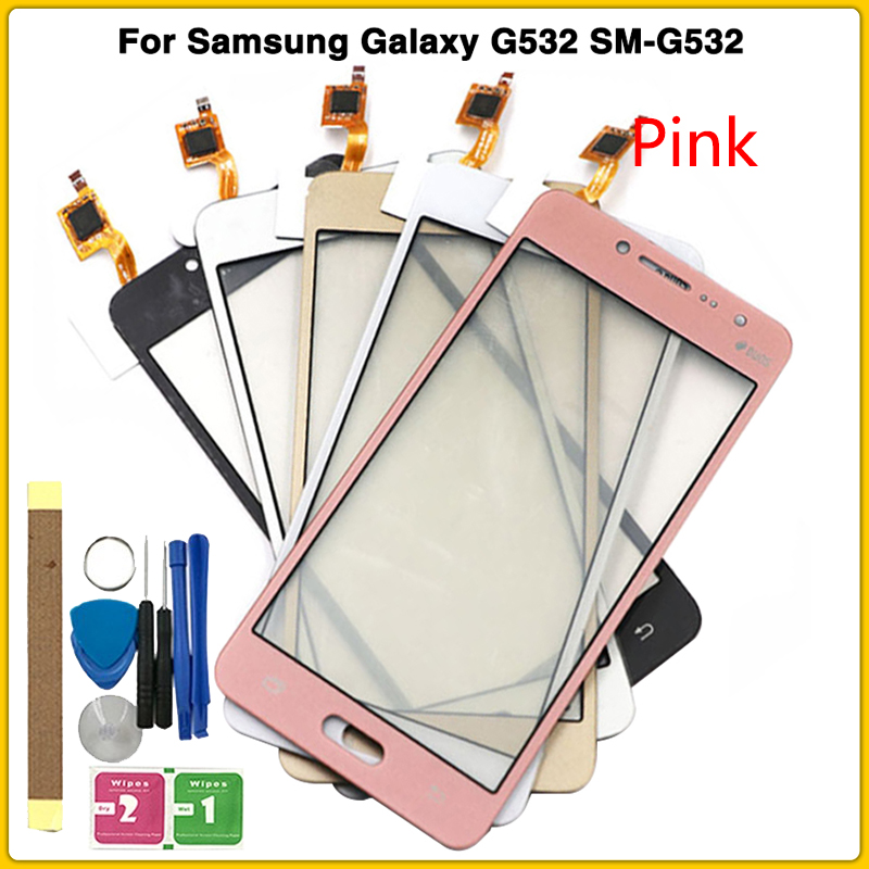 Rear Touch Screen For Samsung Galaxy J2 Prime G532 SM-G532 Touch Panel Digitizer Sensor Front Screen Glass Lens